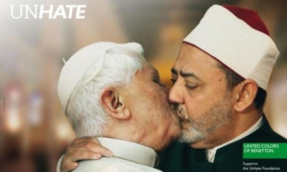 Unhate Benetton: immagini provocatorie? Hanno provocato!