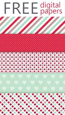 Free digital paper pack from Lovelytocu.com