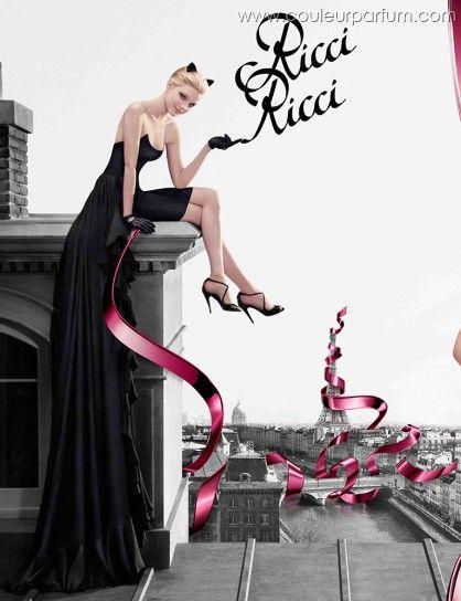 Ricci Ricci by Nina Ricci with Jessica Stam.