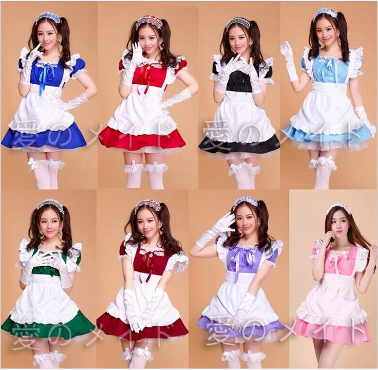 >> Click to Buy << Halloween Costumes For Women Sexy French plus size Maid Costume Sweet Gothic Lolita Dress Anime Cosplay Sissy Maid Uniform #Affiliate