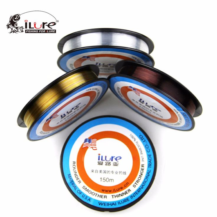 150m Fluorocarbon Line Transparent Carp Wire for Winter Ice Fishing Lines Super Stronger Monofilament Japan Tresse Peche Pesca free shipping worldwide
