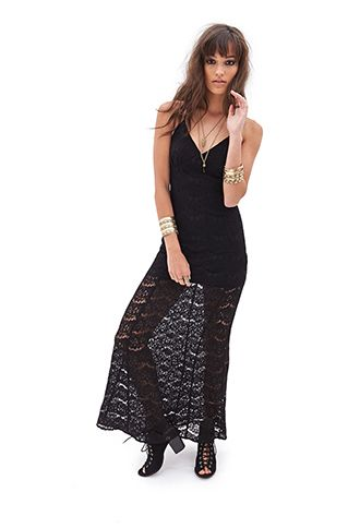 Floral Lace Maxi Dress | FOREVER 21 - 2000058796
