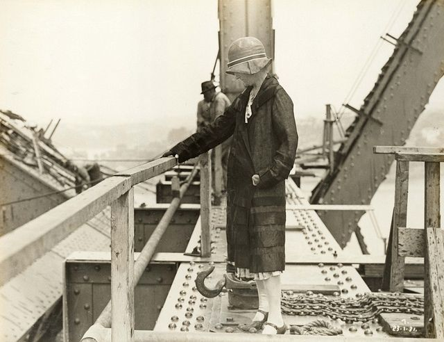 Mrs J.J.C. Bradfield, Sydney Harbour Bridge1931