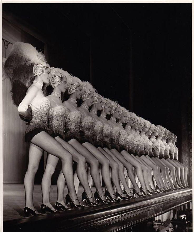 The Tiller Girls Chorus Line.
