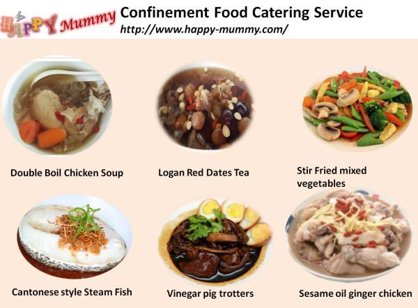 Happy Mummy Confinement Food Catering Service Is The Healthiest Choice Of Confinement With A Well Balance Diet To Keep All Woman Ba Confinement Food Food Meals