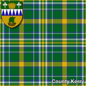 county kerry irish tartan