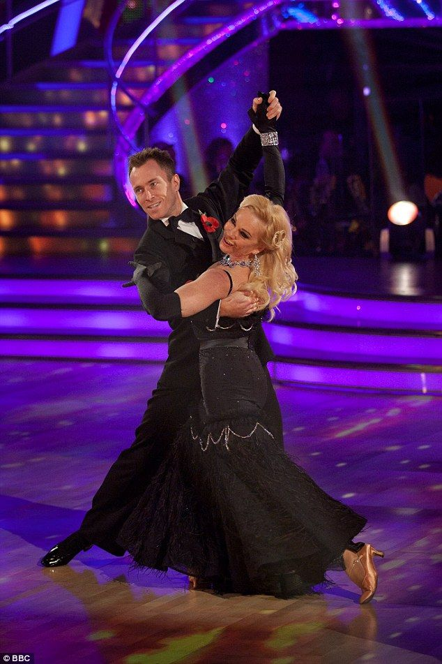 King of the dance floor:James Jordan has admitted he wasn't always happy with the celeb partners he danced with during his 14 seasons on Strictly Come Dancing, telling Loose Women he was at first 'gutted' to be partnered with Pamela Stephenson