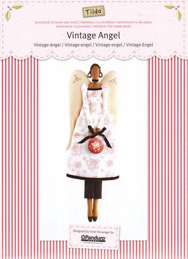 Tilda's Vintage Angel Pattern