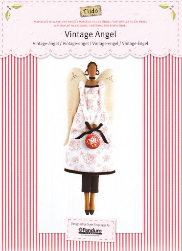 Tilda's Vintage Angel Pattern