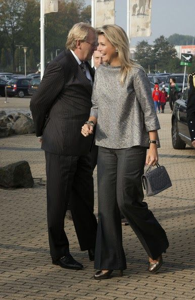 Queens & Princesses - Queen Maxima attended a seminar in Rotterdam