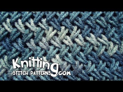 Watch this video to learn how to knit the Wicker stitch (aka Criss-cross stitch). This stitch is kind of like a hybrid between a cross stitch and a 2 stitch ...