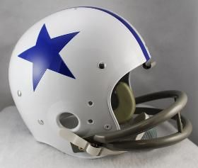 Dallas Cowboys Helmet Riddell Full Size TK Style 1960-1963 Throwback Special Order