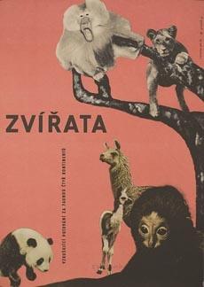 Posteritati: ANIMALS, THE (Les animaux) 1964 Czech 23x33