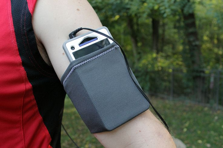 Tutorial. Simple Arm Band DIY -- Great for holding your cell or ipod