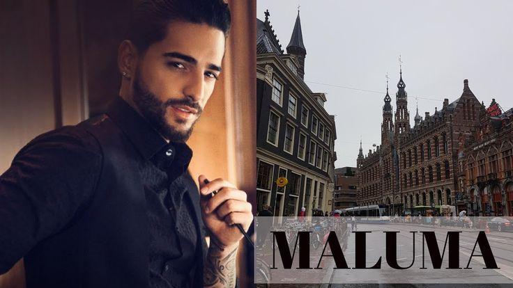 VLOG de calatorie: Concert MALUMA || Amsterdam