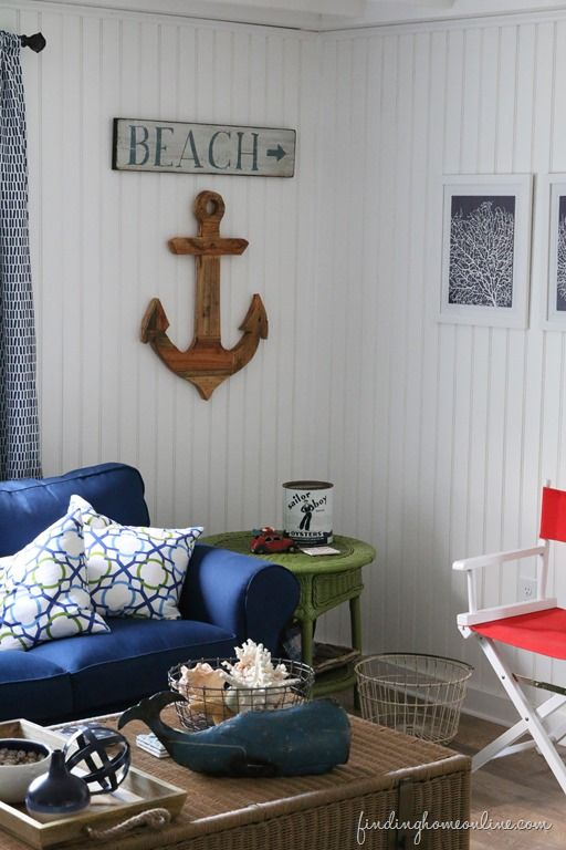 Decorating a beach house with Finding Home