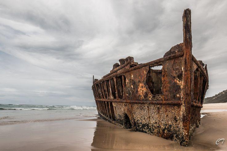 Fraser Island SS Maheno Shipwreck, Australia