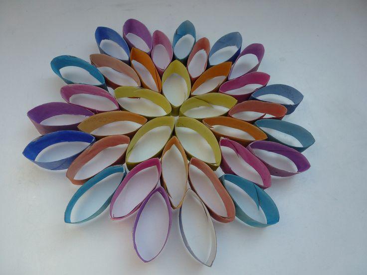 Klorollen Blume