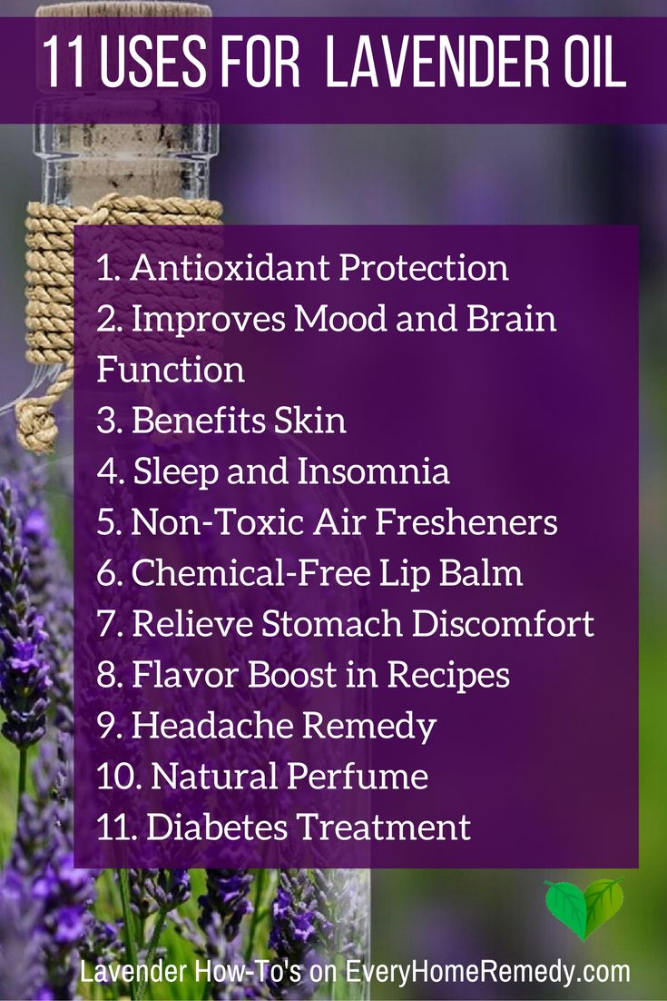The Wonderful Health Benefits of Lavender Oil - And How to Use It  #essential #oils #lavender