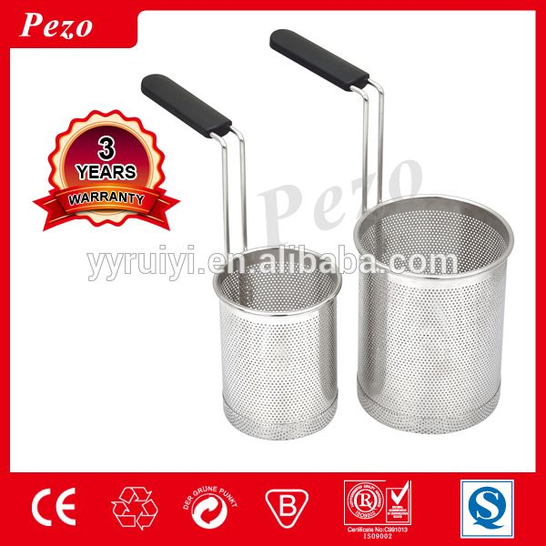 Cheap wholesale Cylindrical Stainless Steel Pasta Basket