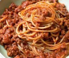 Rezept Spaghetti Bolognese Sauce - SUPER EINFACH von manu.k - Rezept der Kategorie Hauptgerichte mit Fleisch