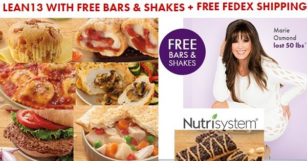 Nutrisystem Lean 13 Diet Eat the Food and Lose the Weight!