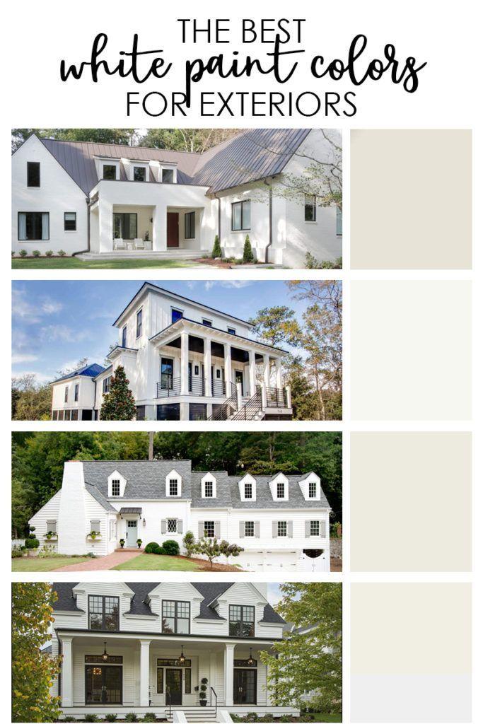 The Best Exterior White Paint Colors White Exterior Paint White