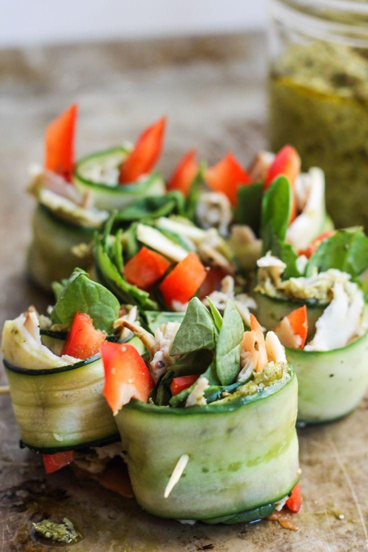 Recept voor Gezonde Komkommerrolletjes
