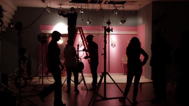 In the Dollhouse // Behind the Scenes