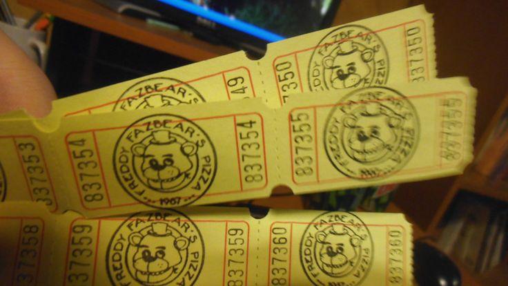Freddy fazbear pizza real real freddy fazbear s pizza tickets by ask
