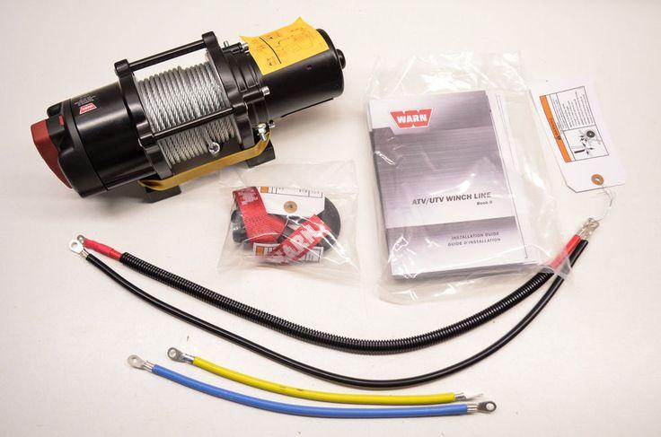 New Warn Provantage 3500 ATV Winch NOS   eBay Motors, Parts & Accessories, ATV Parts   eBay!