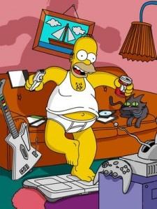 Homer Simpson. El patriarca de Los Simpson presenta un comportamiento que se parece mucho al Trastorno Explosivo