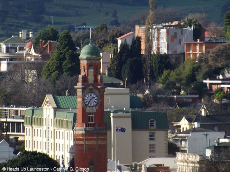 The Town Clock ... from a distance