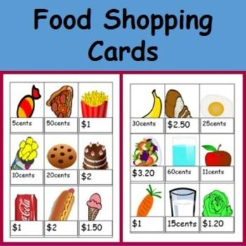 here i have 19 different editable food picture cards with price tags these sheets open in. Black Bedroom Furniture Sets. Home Design Ideas