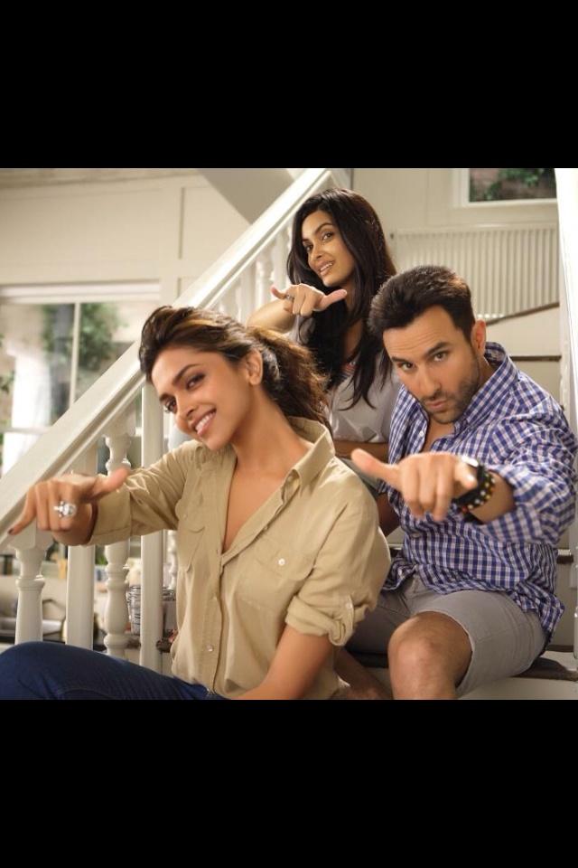 'Cocktail' still  #Deepika Padukone, Saif Ali Khan, and Diana Penty