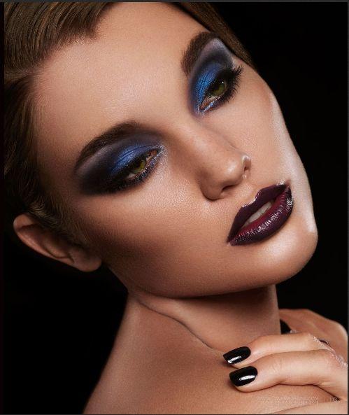 Jewel Toned Smokey Eye as seen in Two Magazine