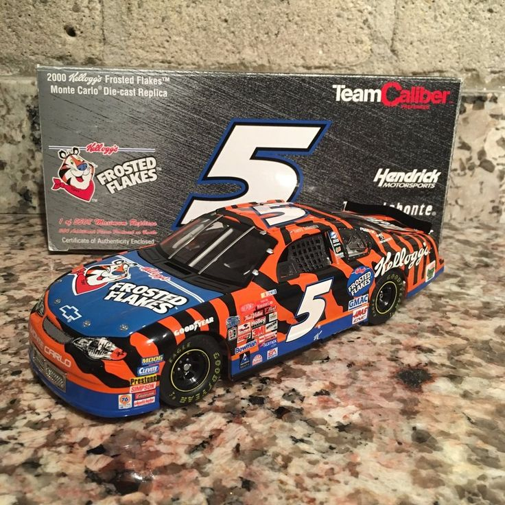 Terry Labonte No. 5 Kellogg's Frosted Flakes 2000 Monte Carlo 1:24 Die Cast Car  | eBay