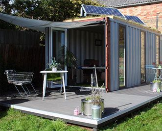 Amazing small spaces project from the man from Restore - first seen on George Clarks small spaces.  Anyone got a spare shipping container and welding kit?