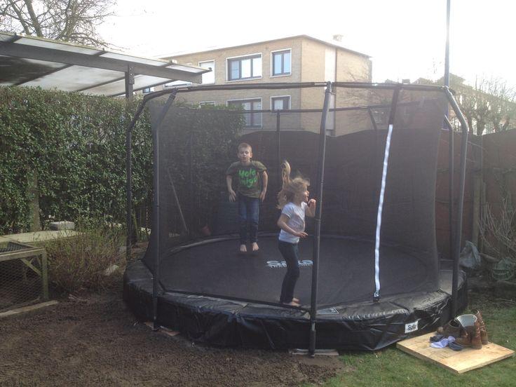 Ingegraven trampoline Salta