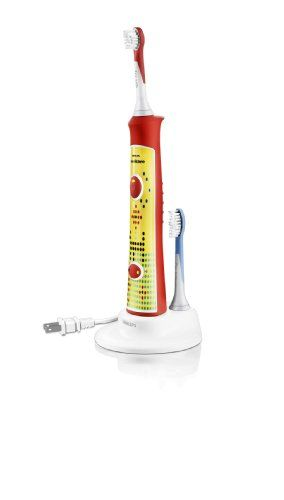 Philips Sonicare HX6311/02 Sonicare for Kids Rechargeable Electric Toothbrush $52.21