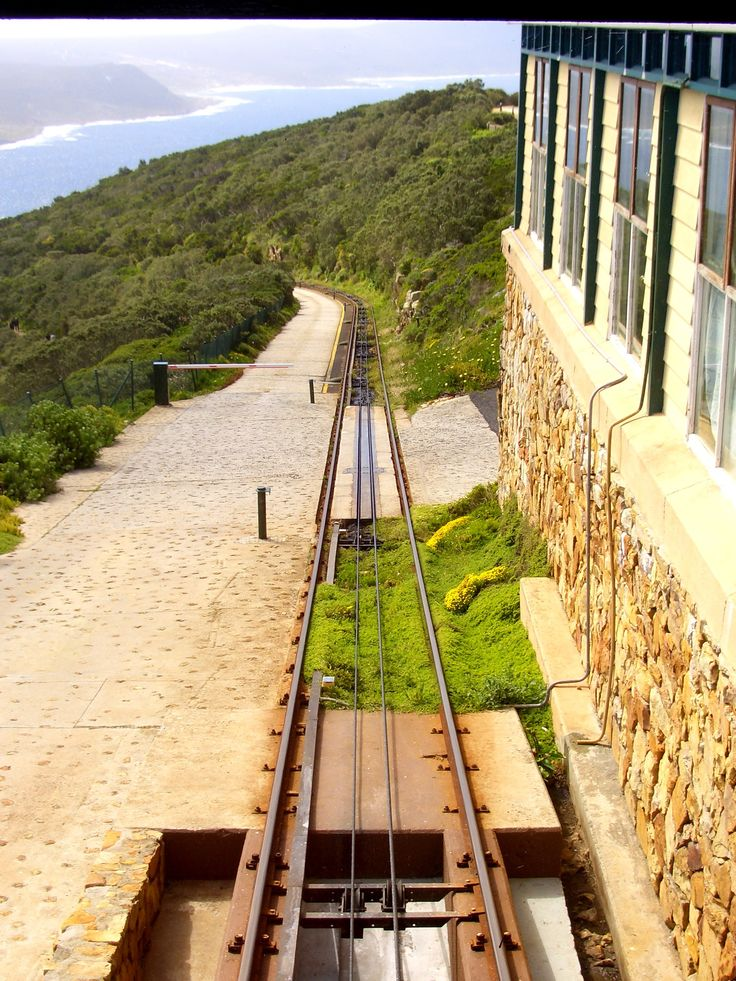 The funicular rails at Cape Point. #CapePoint #EpicEnabled