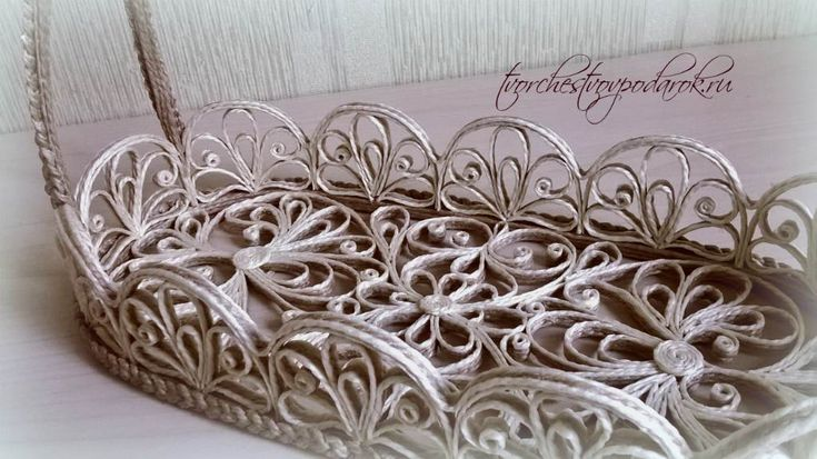 Плетеная корзинка