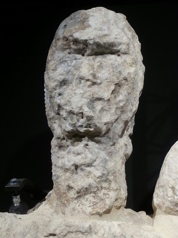 Pugilatore dal volto cancellato. #Giants #monteprama #invasionidigitali