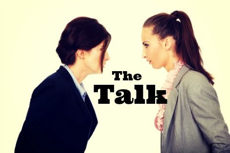 the talk, biological mother and stepmom talk, step family, blended family, stepmom, step mother, biological mother talk