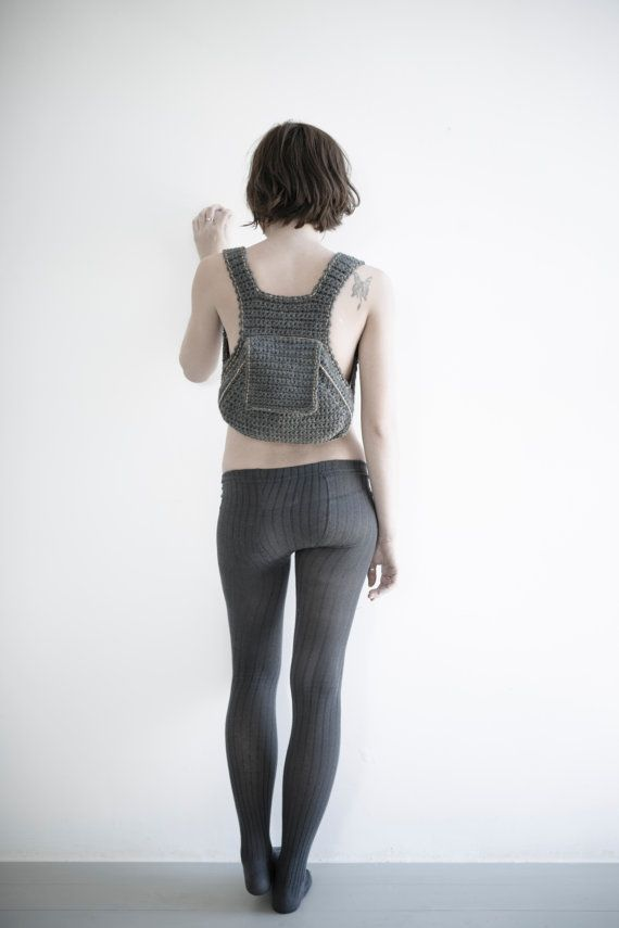 So in love with Leninka's crocheted backpack.