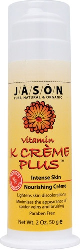 Jason Vitamin K Creme Plus -- 2 oz -