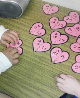 Multiplication centers idea. Could also do for addition and subtraction facts.