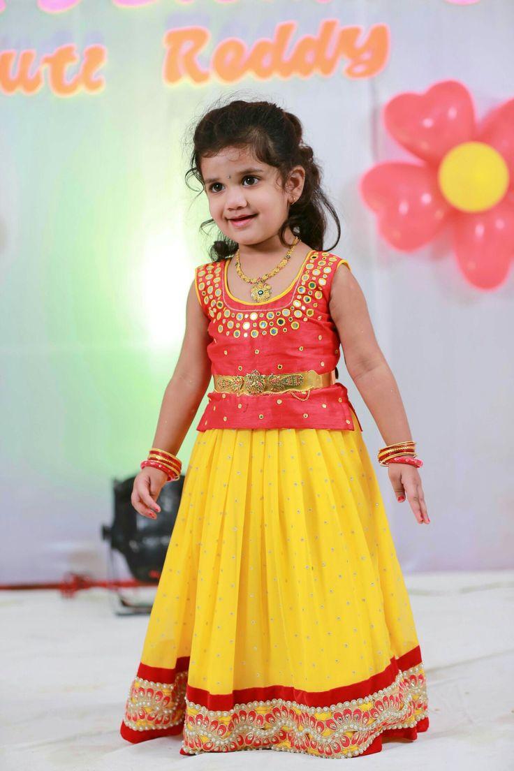 Yellow red langa blouse #designer # mirror work blouse