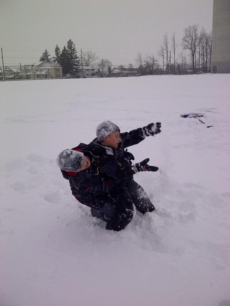 Snow Slam!