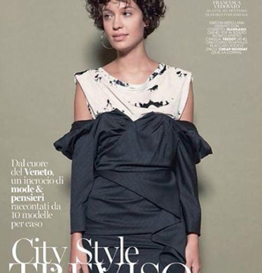 """Mangano on Marieclaire Italia Dress """"Sixty-three"""""""